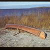 The Chief's birch bark canoe. Loon Lake 10/29/1943
