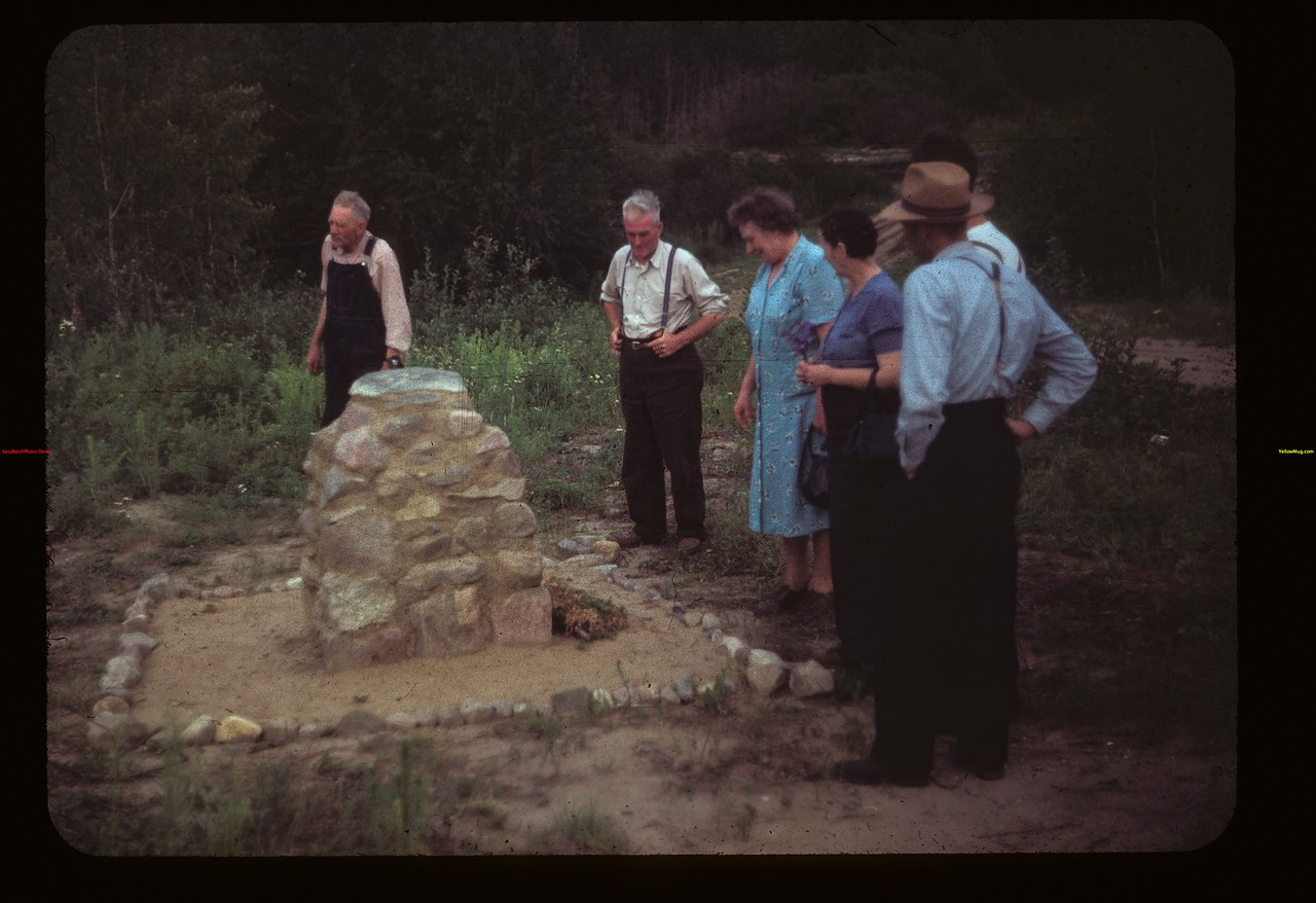 Dist. 3 Study tour at Boy Scout's cairn Steele's crossing-little narrows	 Loon Lake	 07/23/1949