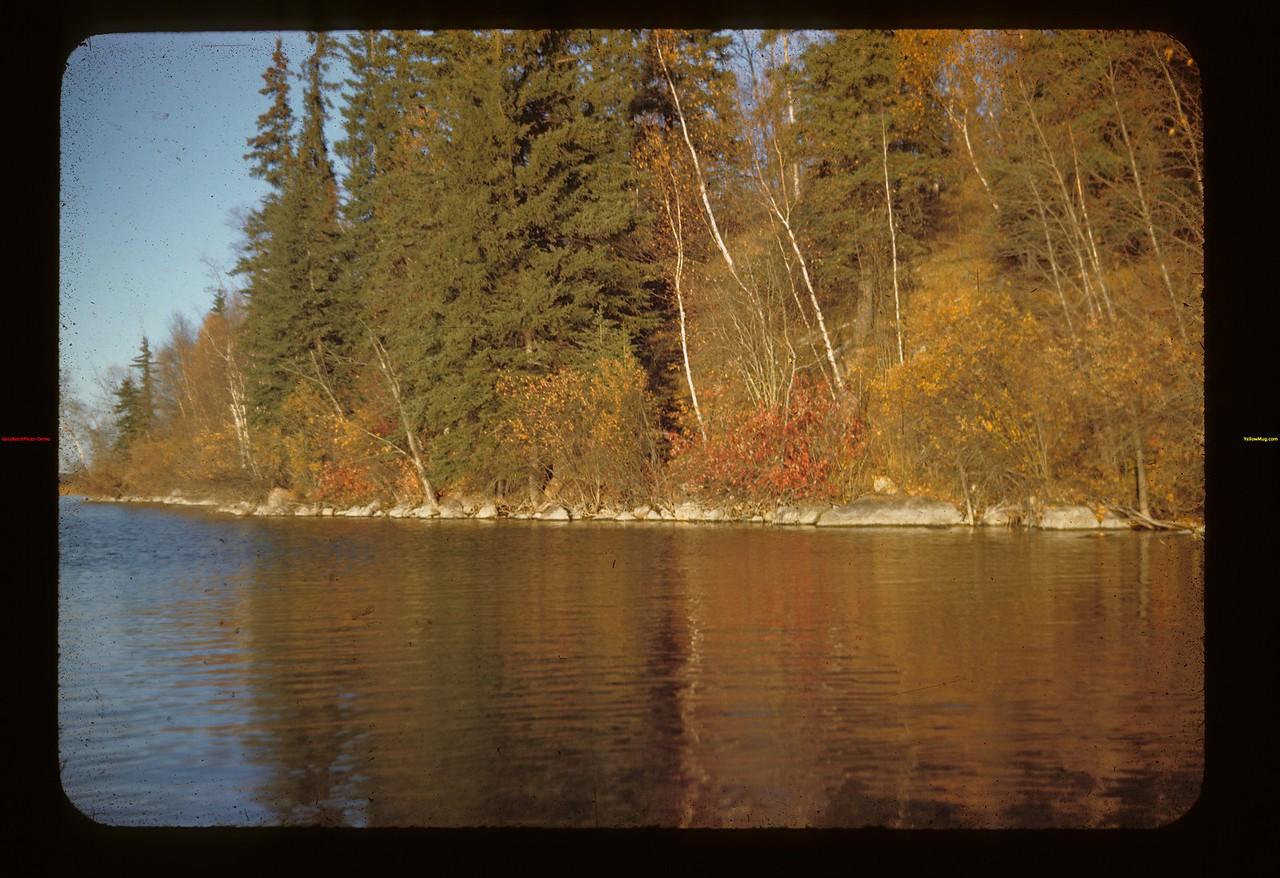 S. W. Upper Makwa Looking East Loon Lake 10/09/1944