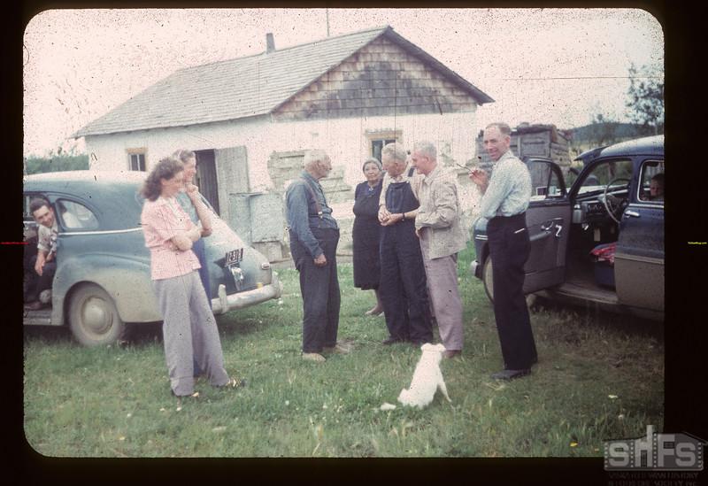 Dist. 3 Study Tour Hears Charlie Trottier's Story Loon Lake 07/24/1949
