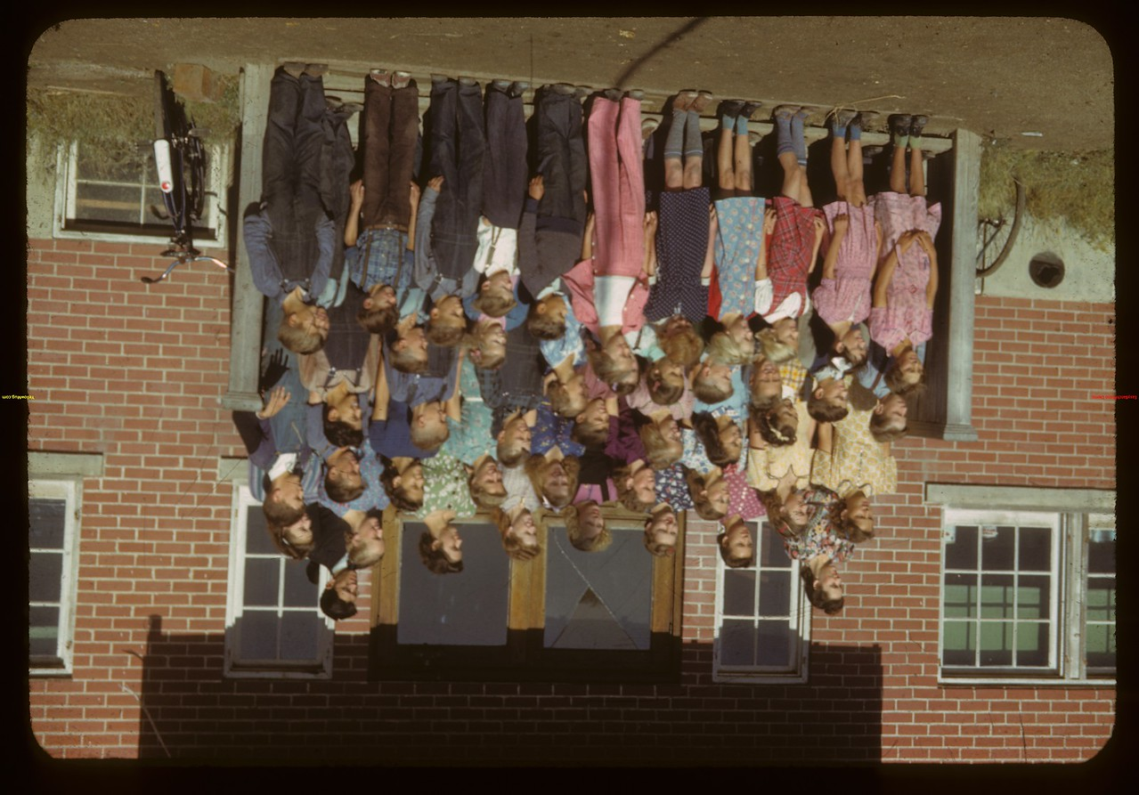 Student body of Orkney school.  Orkney.  08/28/1942
