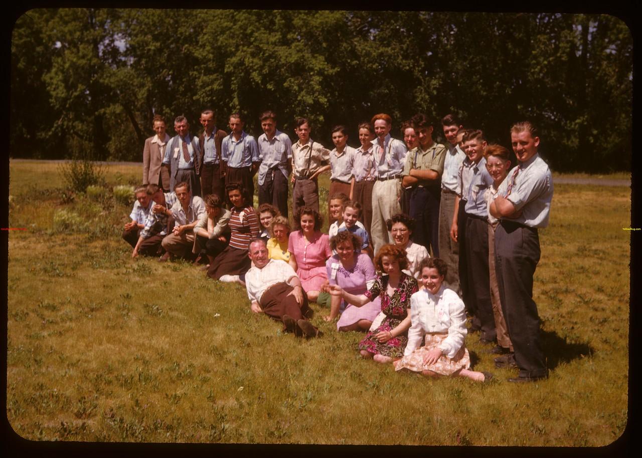 District 14 PA Co-op school..  Prince Albert.  07/09/1947