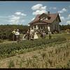 Olaf Nyland garden and home.  Shaunavon.  07/01/1948