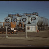 Consumer's Co-op Refineries delivery tanks. Regina 10/04/1942