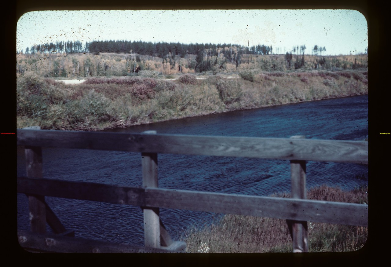 Beaver River bridge looking NE - Golden Ridge Goodsoil 09/23/1944