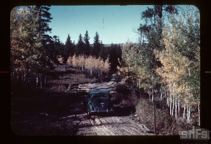 Down north hill to Beaver [River} - Meadow Lake to Goodsoil. - Golden Ridge [in distance]. Goodsoil 09/23/1944