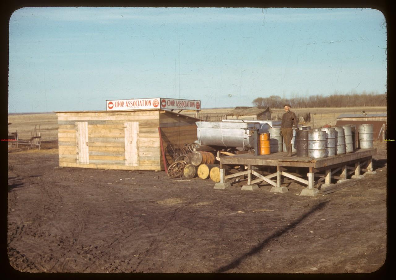Radisson oil co-op..  Radisson.  04/02/1942