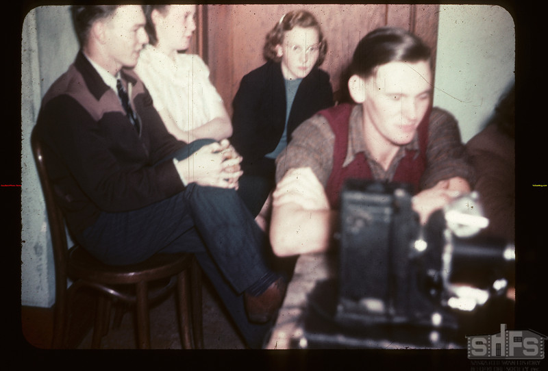 During Student Co-op meeting. Y-T-S. Kenosse Lake 11/25/1946