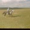 Lynn Smith and pony. Mankota 06/08/1948
