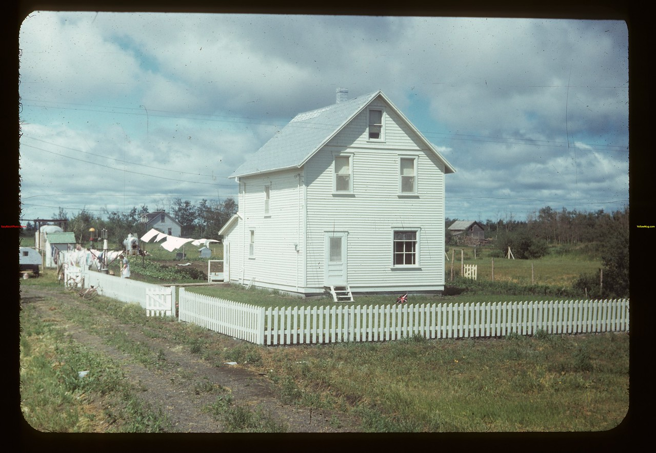 Co-op house for Russ Morgan - manager Melfort Co-op Oil Melfort 07/18/1949