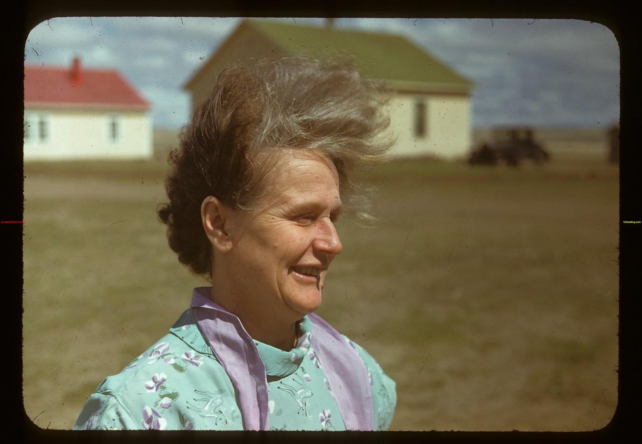 Mrs. B. Sernes cook. Matador Co-op Farm Matador 05/15/1948