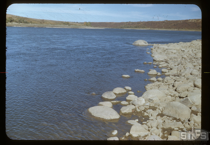 South Saskatchewan River at Dr. Alexander's farm	 Clarksboro	 09/28/1948