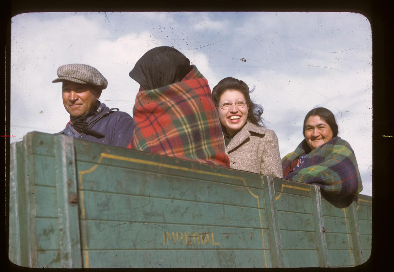 Mrs. Frank Leducer.  Onion Lake.  10/09/1946