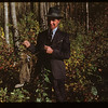 Bruce Buchanan Holding Indian snared rabbit	 Loon Lake	 10/02/1948