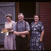 Cooks at Carrot River co-op farm; Mr & Mrs Young & Mrs Gowan.	 Carrot River	 08/21/1947