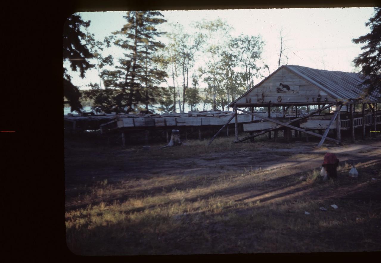 Mink shelter - Hogan's ranch - Trout Lake Beacon Hill 08/23/1944