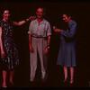 Mrs. Mollard and Mrs. Pavelick congratulate A.B. Friesen at PA co-op school..  Prince Albert.  07/12/1946