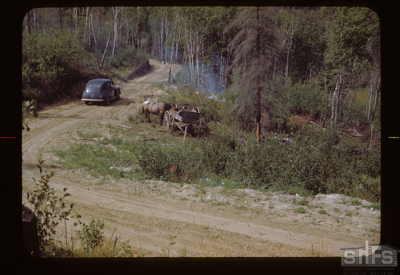 Around South End of Corduroy Marsh-Stoon S. Rd. Loon Lake 08/21/1944