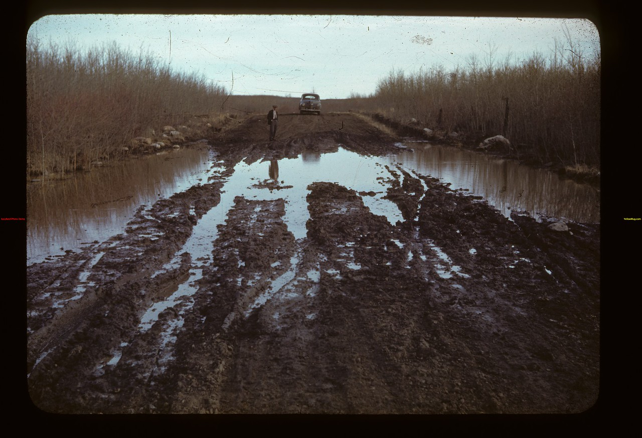 With del.[ivery] George Preece  - Loon lake to Goodsoil Goodsoil 04/23/1942
