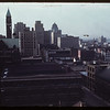 Down town and City Hall from 10th floor Ford Hotel.	 Toronto.	 06/06/1944