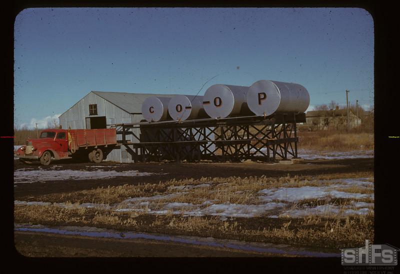 Wilton Co-op Oil Stand Lashburn 03/19/1942