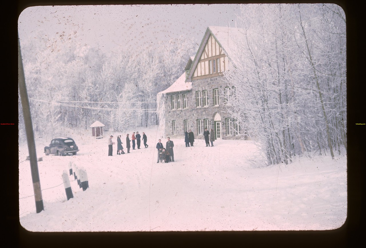 Chalet from S.E. Y-T-S.	 Kenosse Lake	 11/18/1945