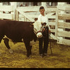 Flloyd Pelkey with the Grand Champion calf	 Consul	 05/31/1949