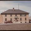 Southern Saskatchewan Co-op Stockyards & Livestock Pool Staff [two story office building]. Moose Jaw 04/28/1947
