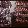 Co-op horse plant - hearts and livers hanging.	 Swift Current.	 07/03/1946
