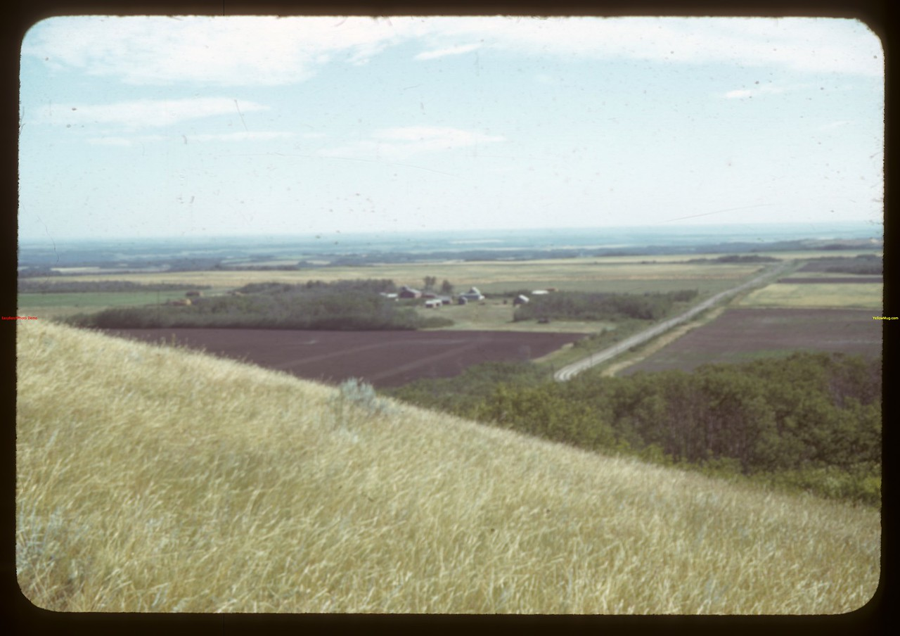 Looking east one mile north of Prongua.  Prongua.  08/18/1942