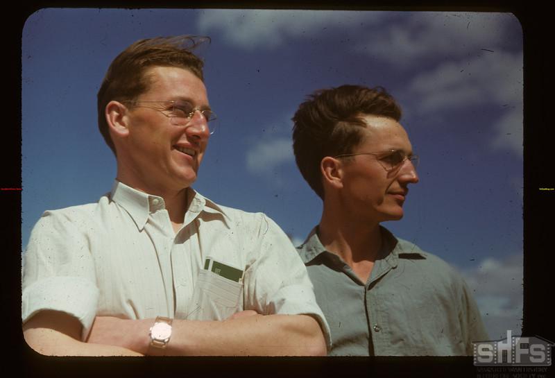 Bill (secretary Matador C. F. ) and John Zazelenchuk Matador 05/15/1948