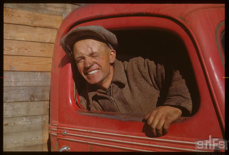 Mike Melinski - Ranger on Meadow Lake road Meadow Lake 10/01/1948