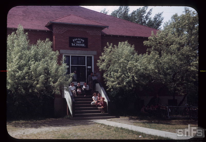 Eastend School across from Community Center Eastend 06/28/1949