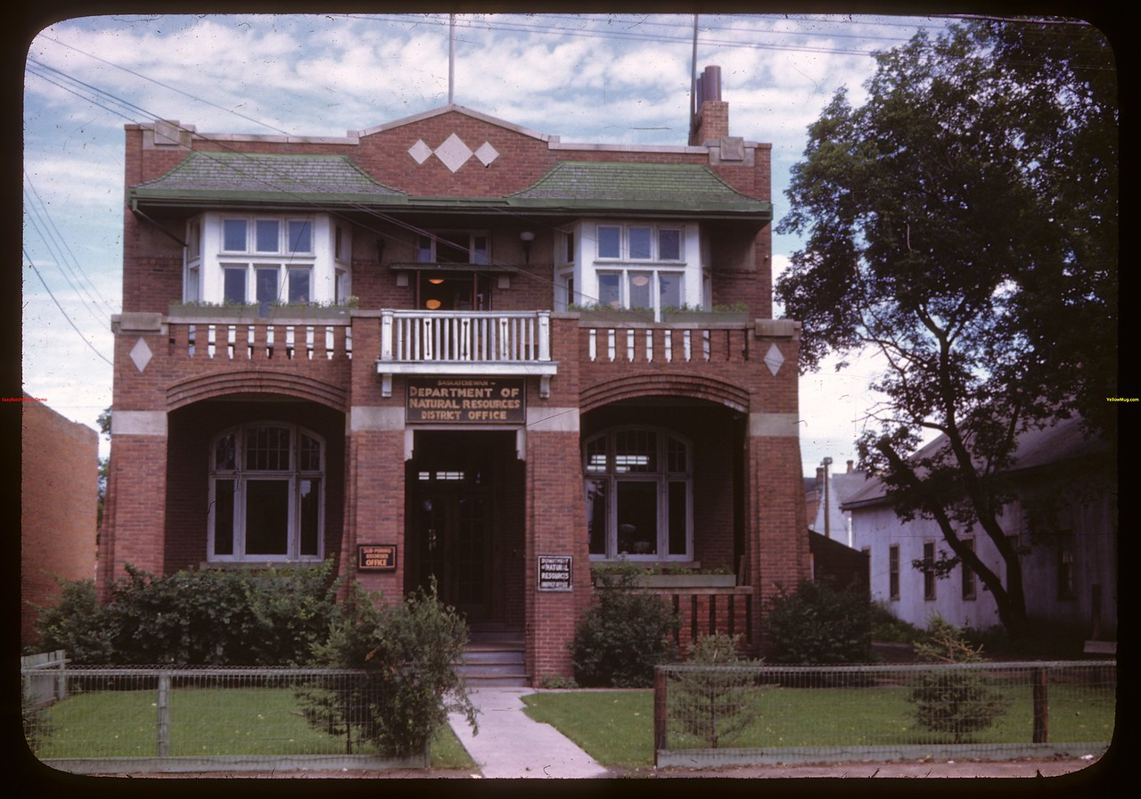 Department of Natural Resources Building - Province of Saskatchewan..  Prince Albert.  07/12/1946