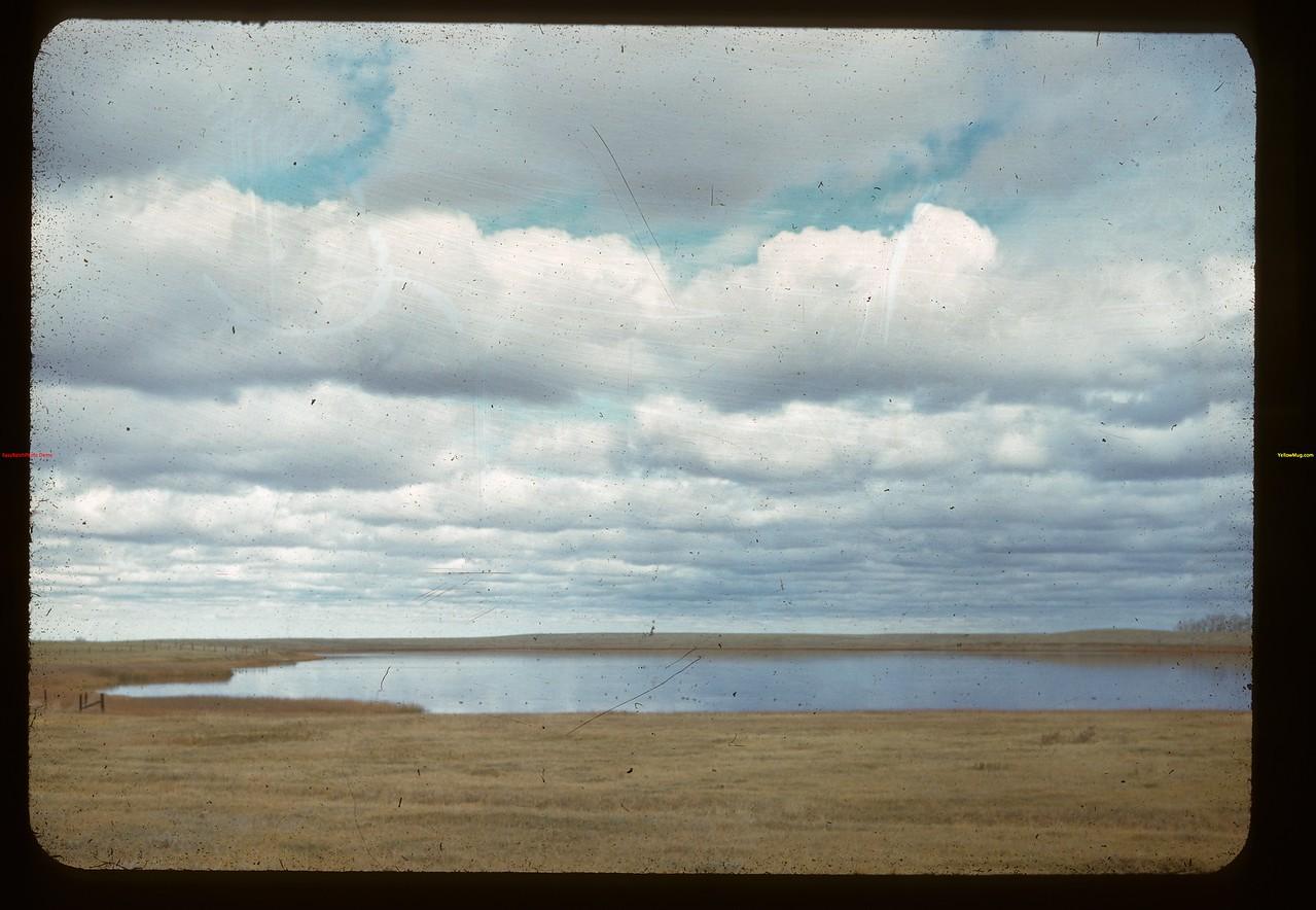 PFRA irrigation reservoir north of Maple Creek. Maple Creek 10/06/1947