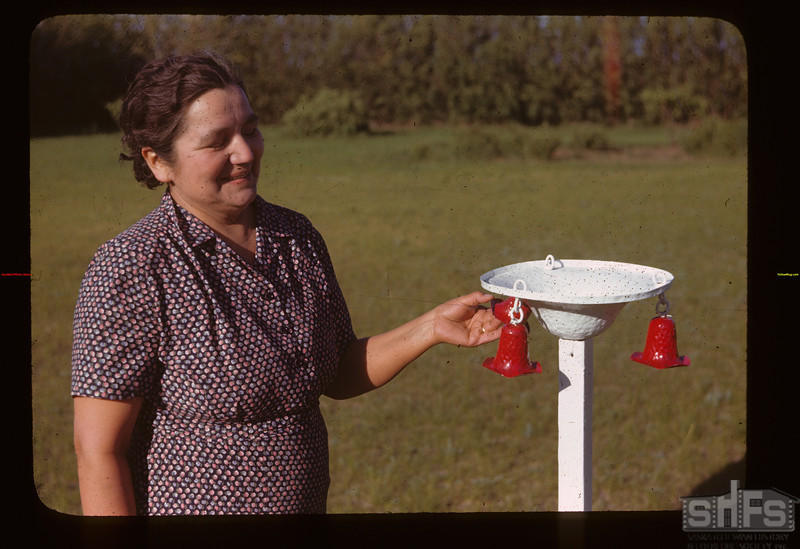 Mrs. Clyde Rose bird bath and bells	 Liberty	 06/15/1946
