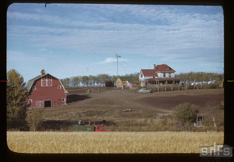 Laurel co-op farm between Etholton and meskanaw.  John A. Dexter - president; Earl Chapman - secretary; 6 men & 3 women.  (West of Melfort)	 Meskanaw	 09/24/1946