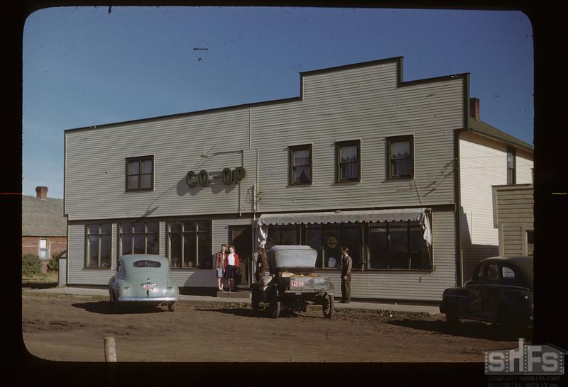 Gronlid co-op store. Gronlid. 09/27/1946