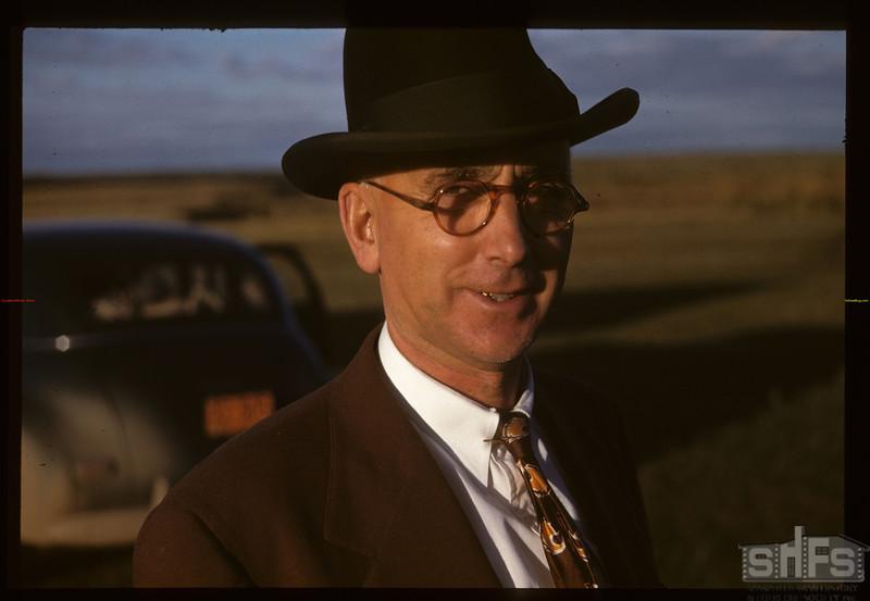 J. S. Bell - Indian Agent on Poundmaker Indian reserve. Battleford 09/22/1947
