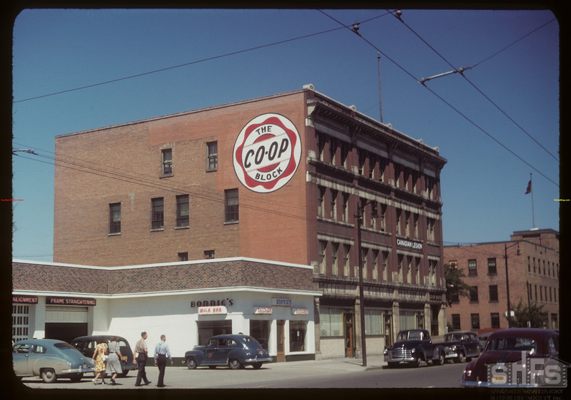 Co-op block - 11th and Albert Street..  Regina.  07/16/1949
