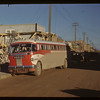 Wilson Parker sees Sask. bus leave. Melfort. 09/28/1946
