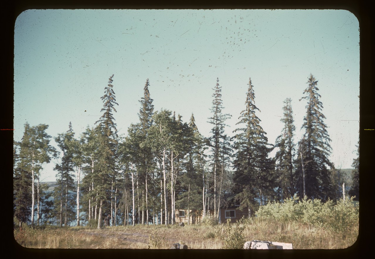 Approaching Hogan's mink ranch - Trout Lake	 Beacon Hill	 08/23/1944