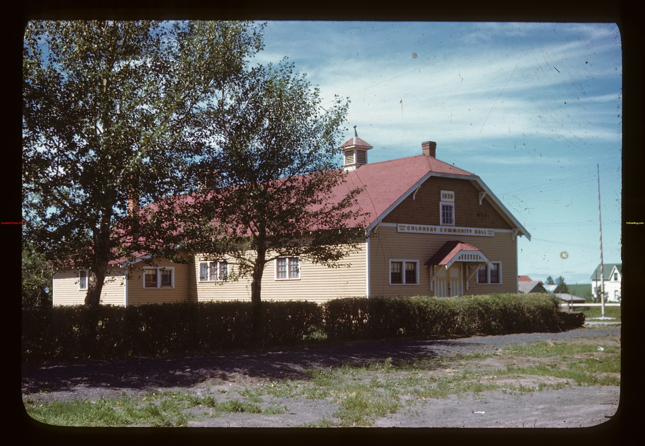 Colonsay Community Hall Colonsay 07/13/1946