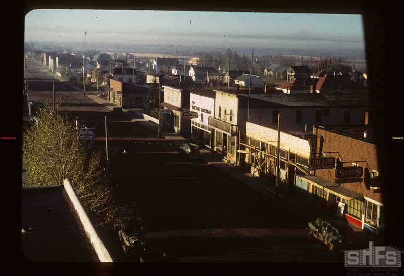Looking SW from hotel Hudson Bay 09/22/1949