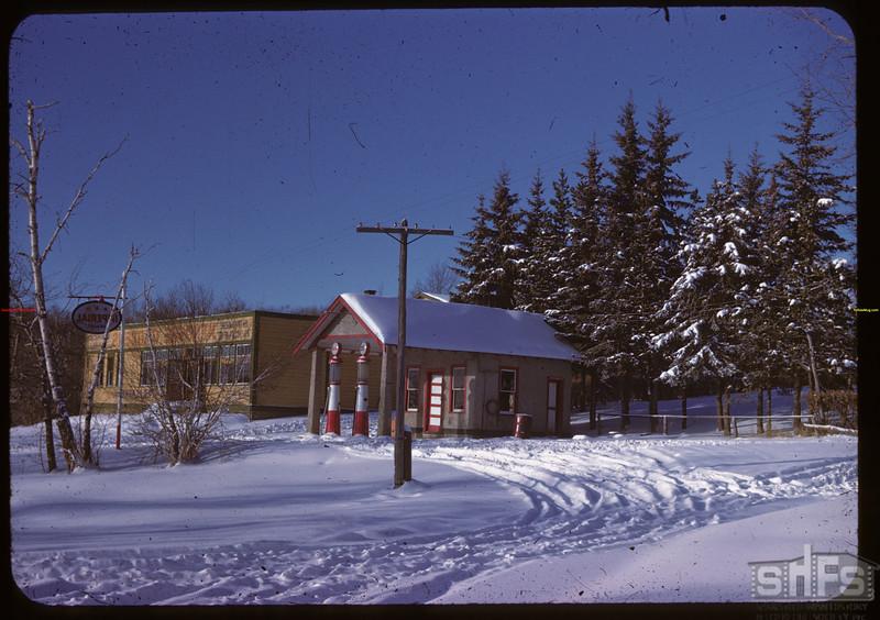 Clark's Garage. Coffee House Kenosse Lake 11/25/1946