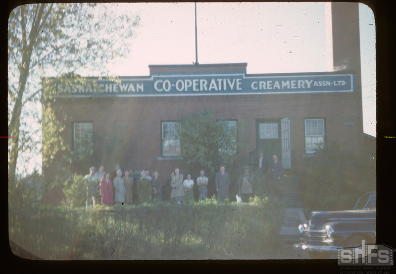 Sask. Co-op Ccreameries and staff.	 Melfort	 09/28/1946
