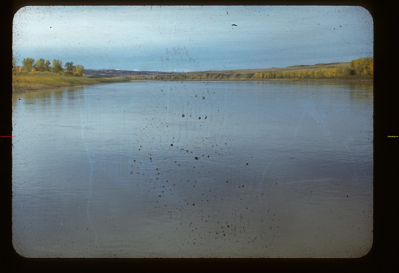 South Sask. River from Lemsford Ferry Lemsford 10/06/1947