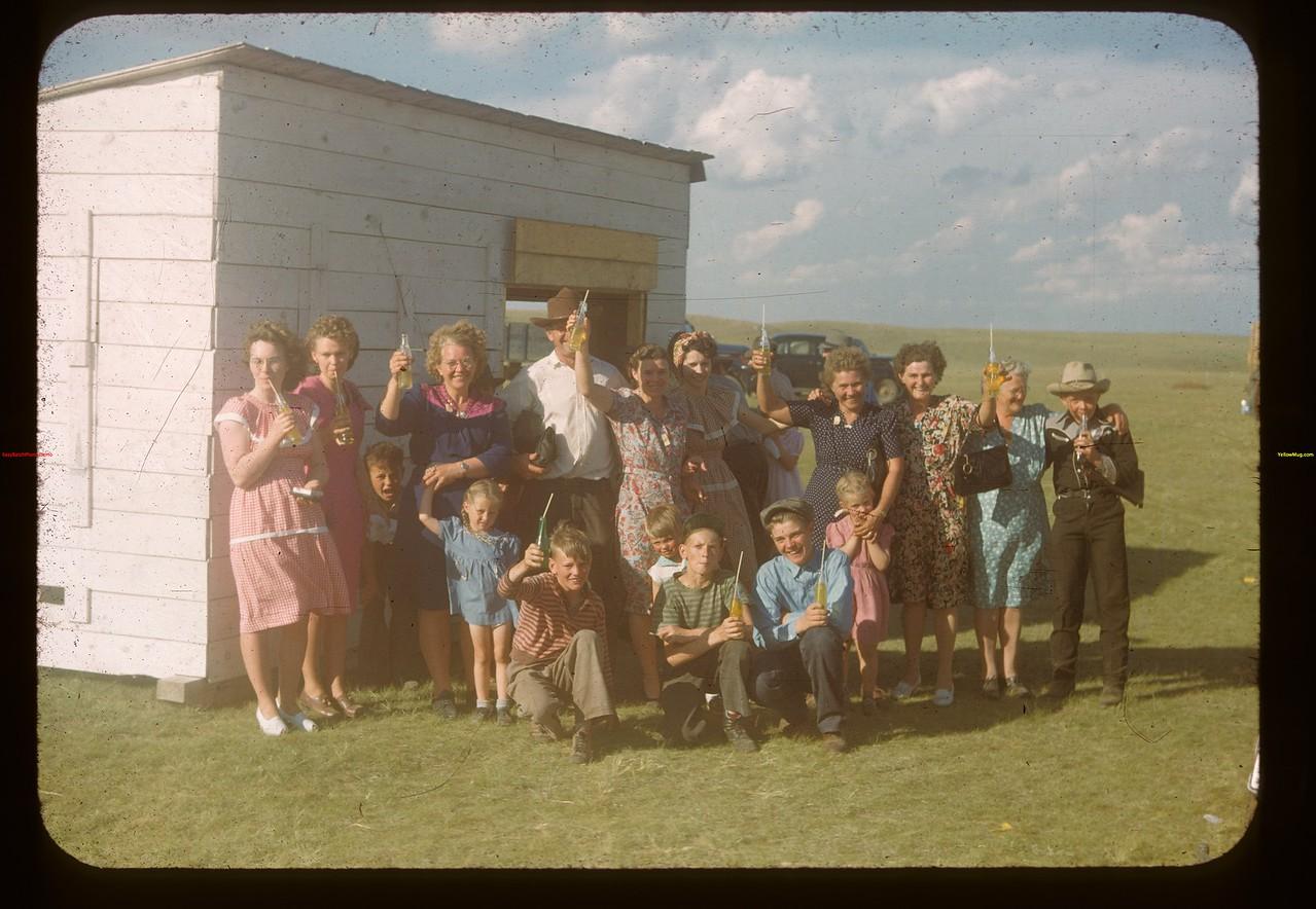 Refreshment booth - Calf Club show. Mankota 06/08/1948