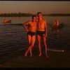 Jack Kenny and Doug Munroe - Regina Boat Club.  Regina.  08/01/1947