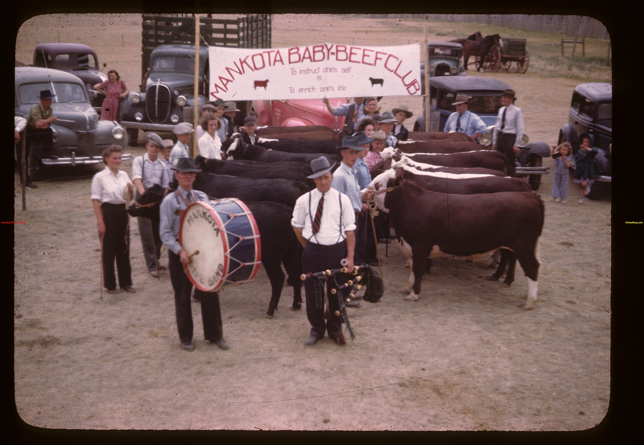 Baby Beef Club Show & Sale.	 Mankota	 06/05/1946